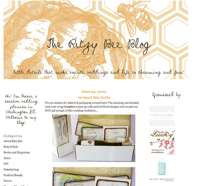 The Ritzy bee