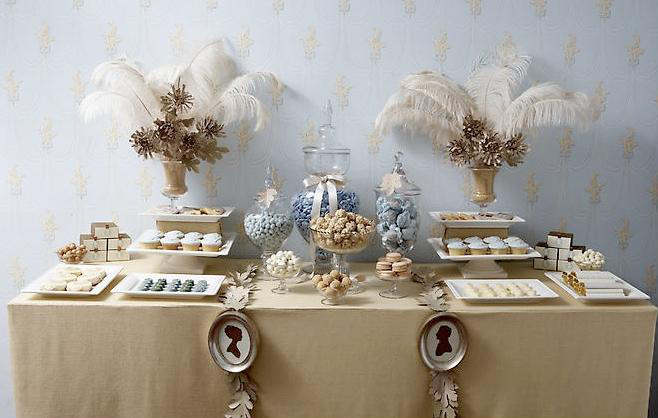 feathers candy and cameos The cool kid 39s table Although many couples opt