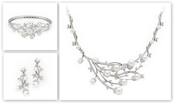 Adorn Jewelry diamonds and pearls