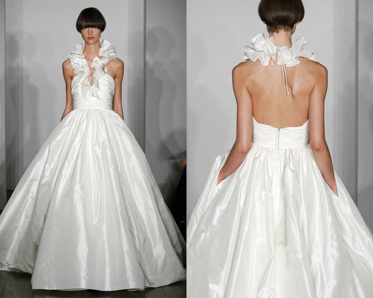 Inspired By These Wedding Ruffles