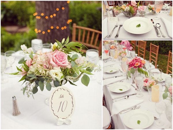 Garden Wedding Table Settings Images & Pictures - Becuo