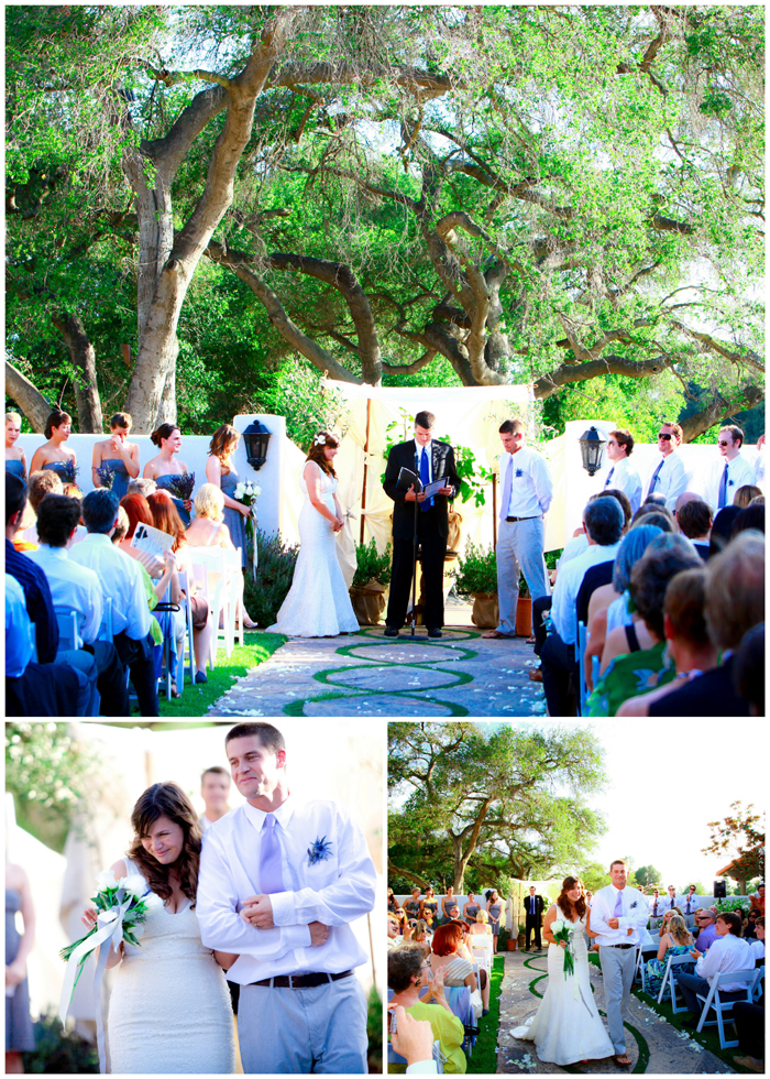 Lavender And Succulent Themed Wedding At Ojai Valley Inn