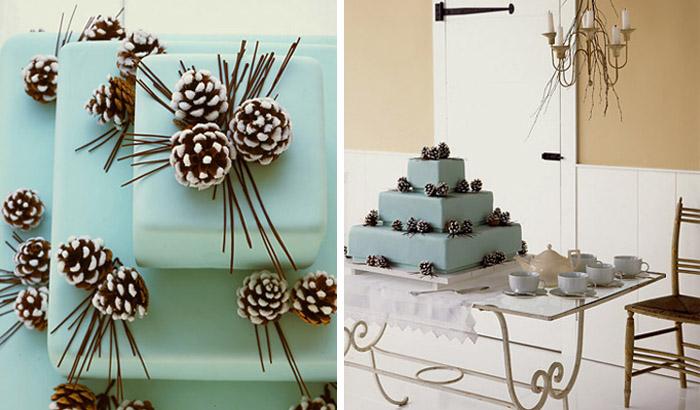 Pine cone cake