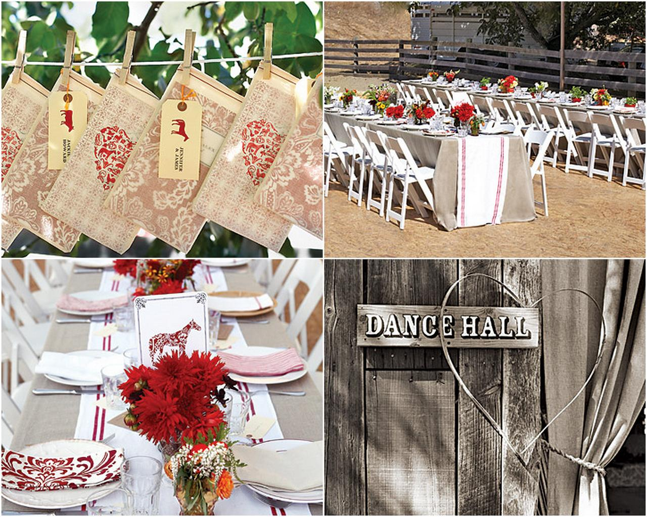 Inspired by These Country Western Styled Weddings - Inspired By This