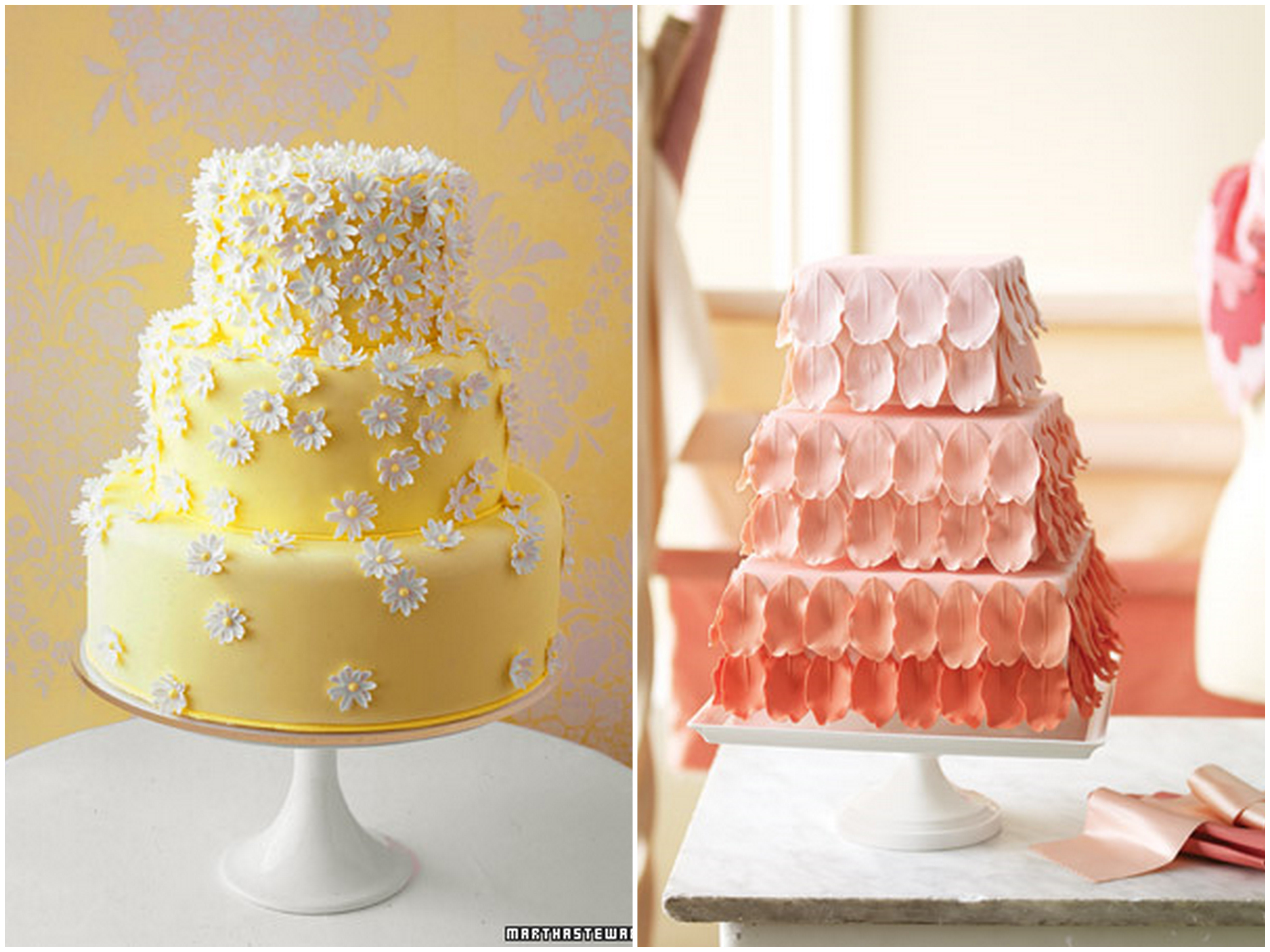 Cake With Fondant Flowers : Inspired by the Great Cake Debate: Fondant Vs. Buttercream ...