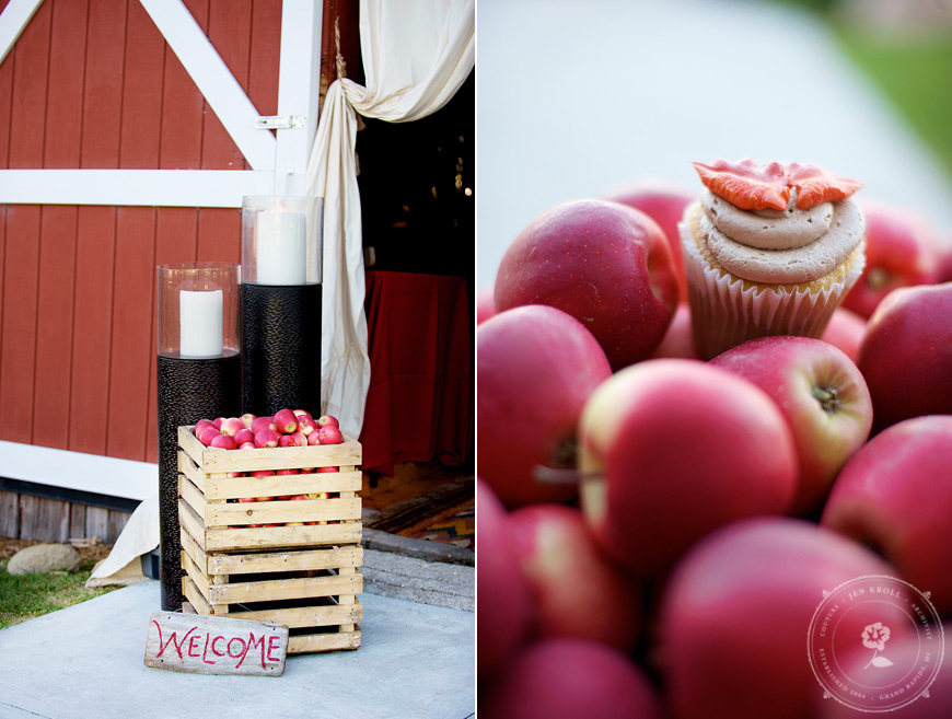 Inspired by this apple wedding decor inspired by this photo junglespirit Image collections