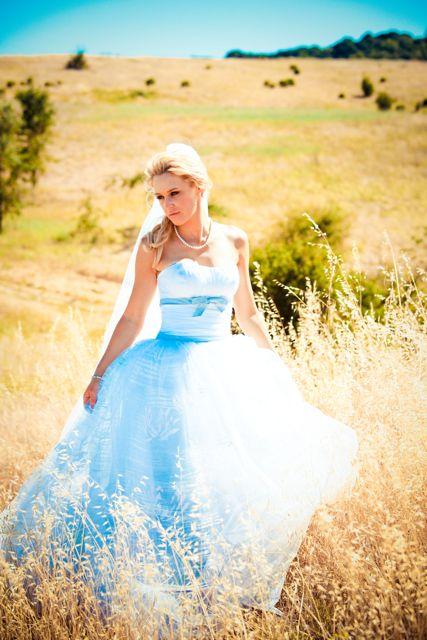 Inspired by This Real Wedding Modern Blue Seersucker Napa Valley