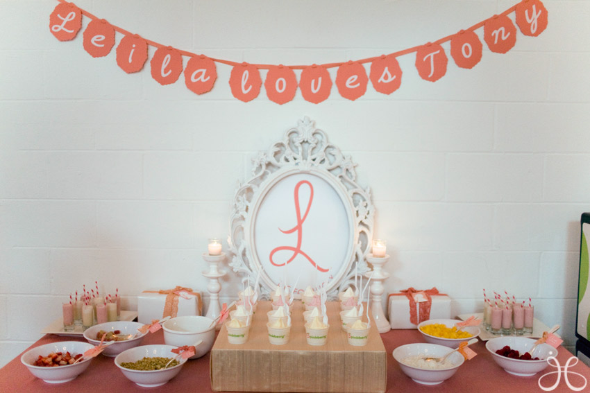 Inspired by My Coral, Peach and Blush Pink Los Angeles Bridal shower ...