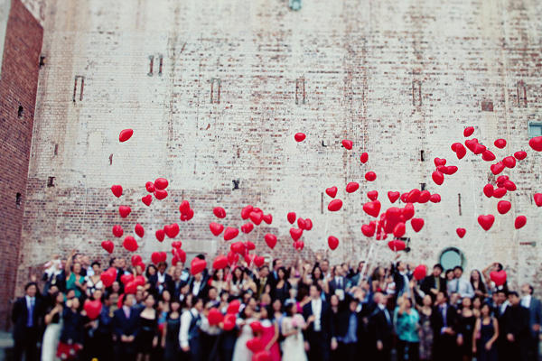 Inspired by These Wedding Day Balloons - Inspired By This