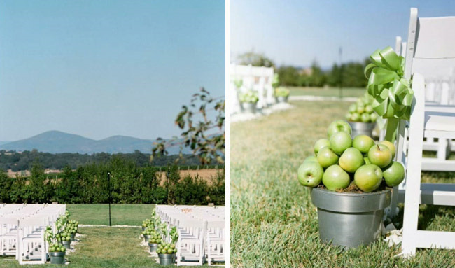Inspired by this apple wedding decor inspired by this photo by tanja lippert junglespirit Image collections