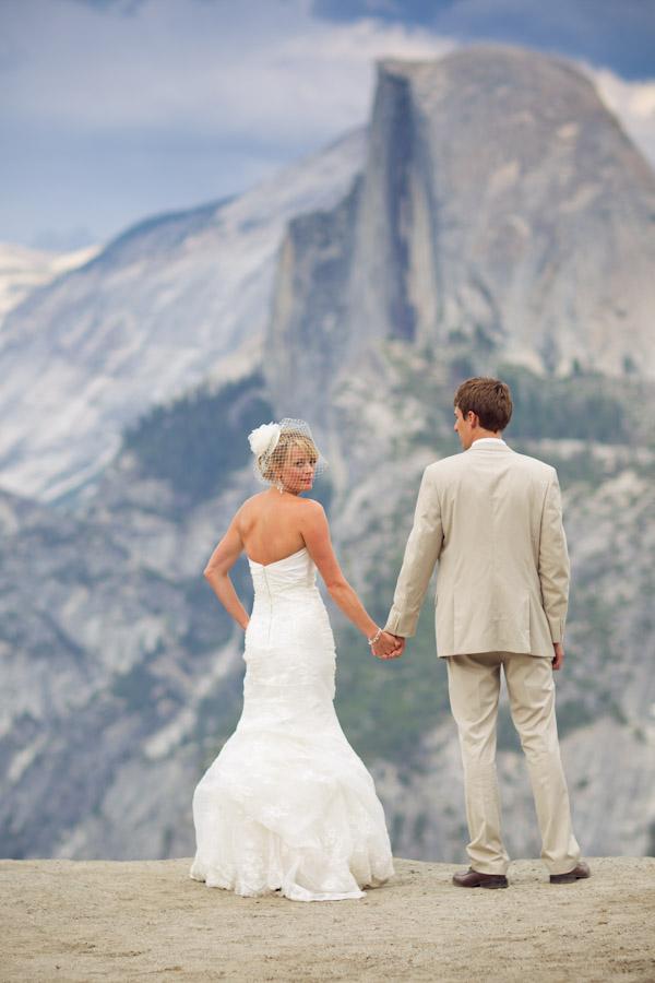 Yosemite Wedding Bird Cage Wedding Veil Wawona Hotel Wedding