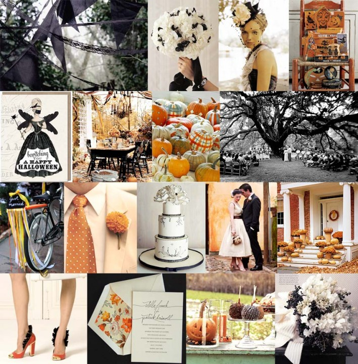 Wedding Ideas And Inspirations: Inspired By These Spooktacular Halloween Wedding Details