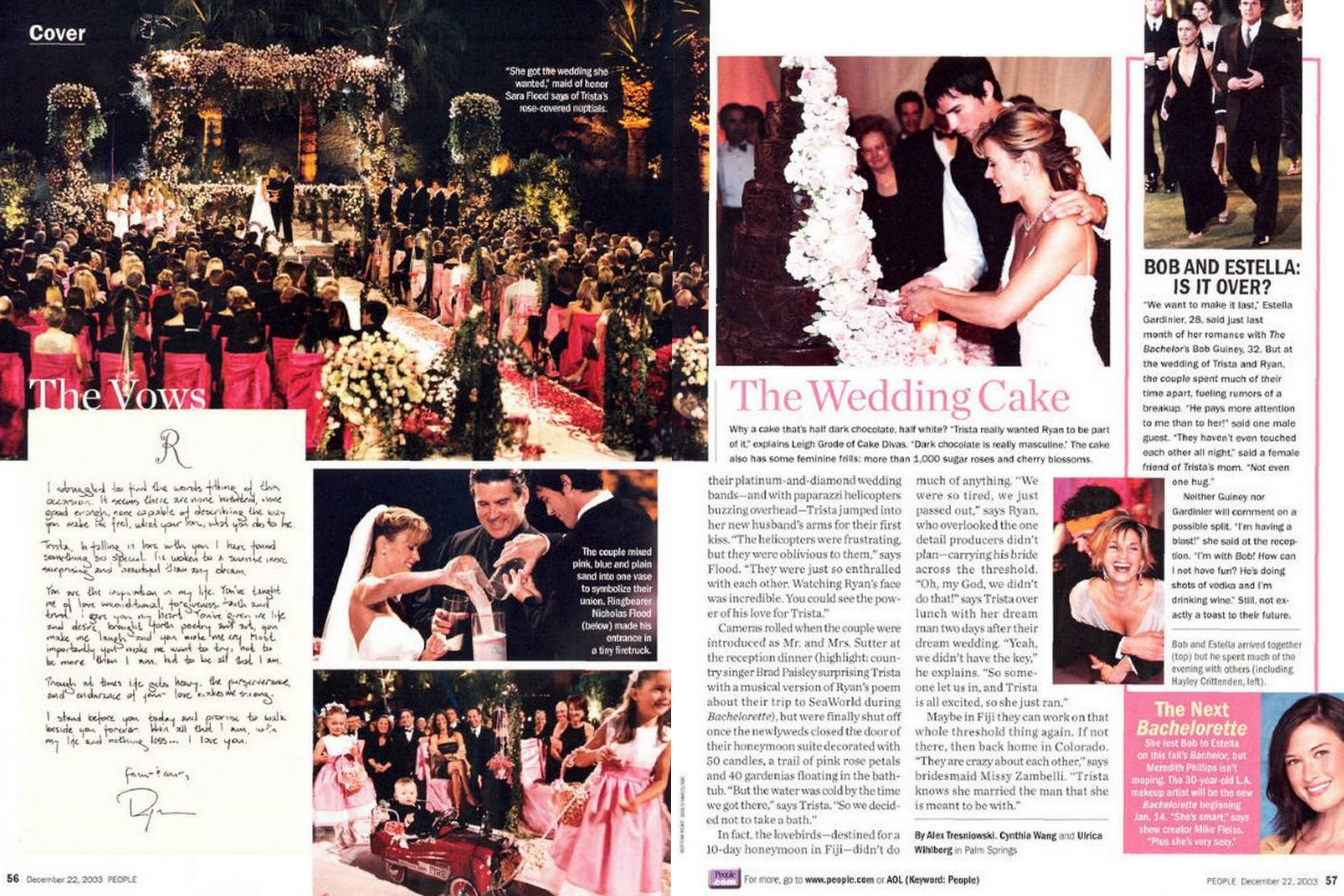 Wedding Magazine Subscription Gift: The Bachelorette's Trista And Ryan Sutter's Anniversary