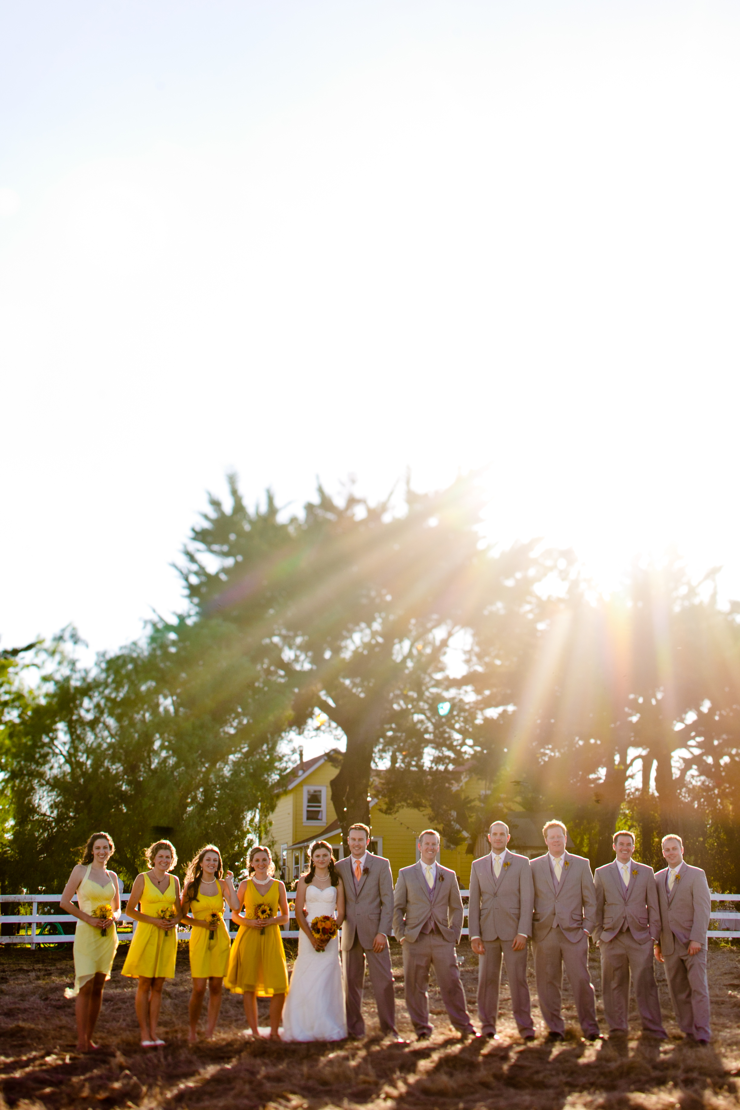 Inspired by This Real Wedding Bright and Colorful Farmhouse