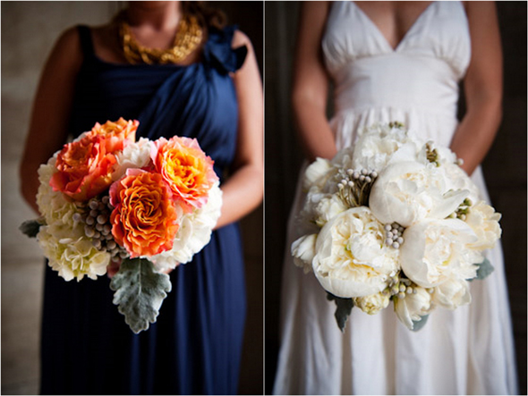 Real Weddings By Color: Real Wedding-Los Angeles Wedding With Unexpected Pops Of