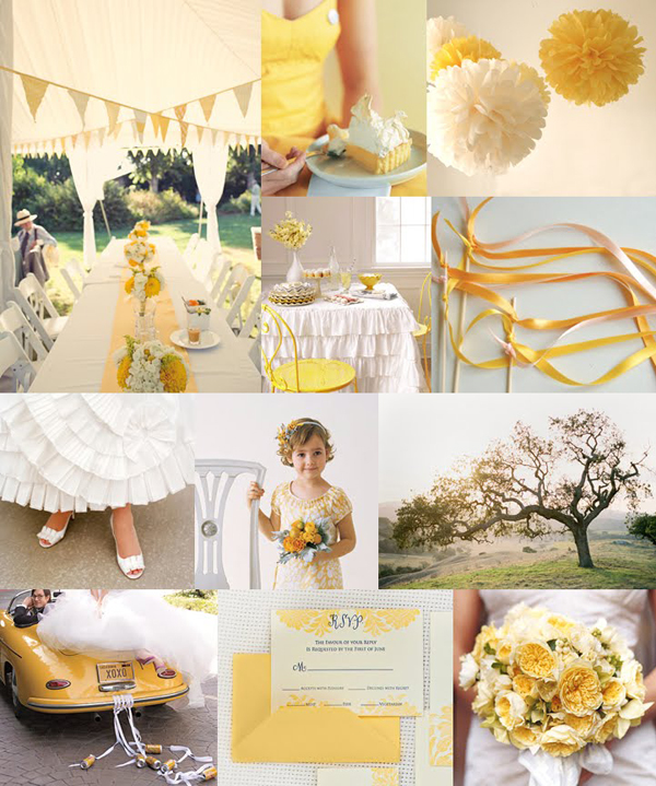 Wedding White Theme: Inspired By These Yellow Wedding Details