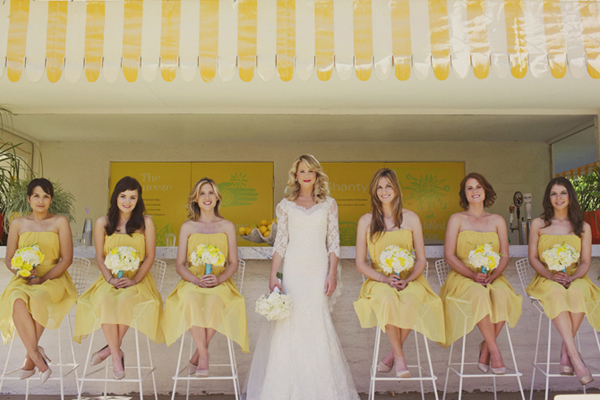Inspired by these yellow wedding details inspired by this junglespirit Choice Image