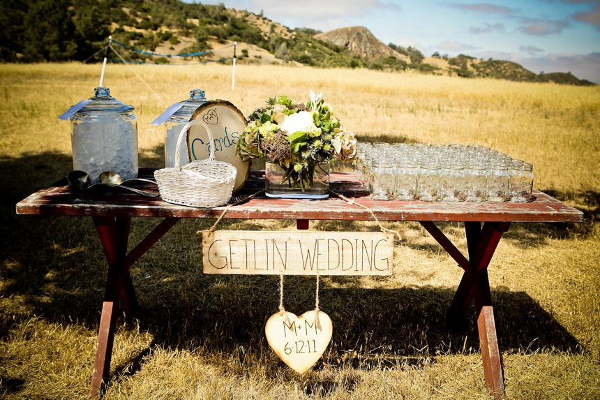Western Backyard Ideas : Outdoor Western Themed Wedding  Inspired By This