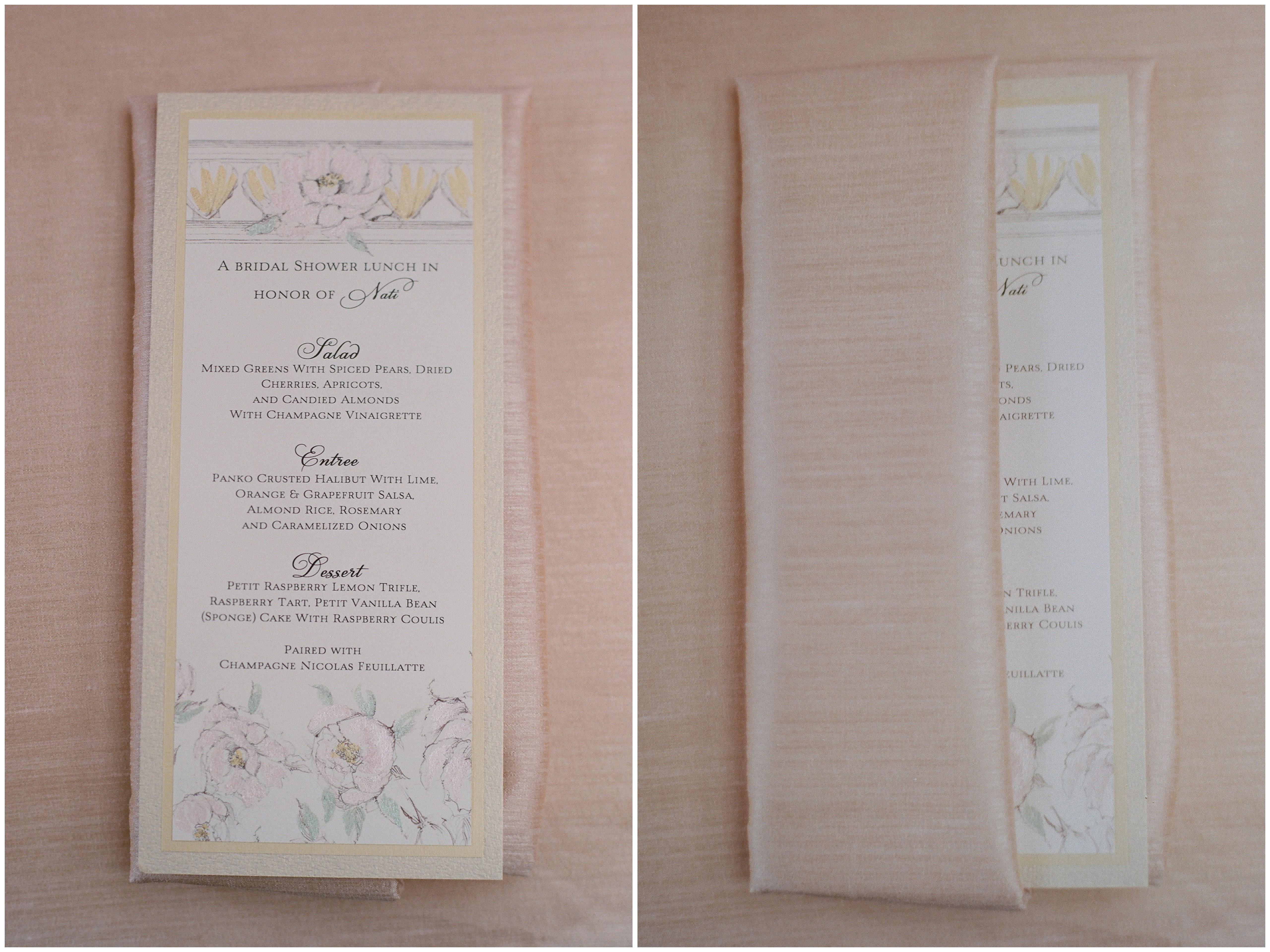 Blush And Ivory Wedding Invitations: Blush And Ivory Seaside Bridal Shower
