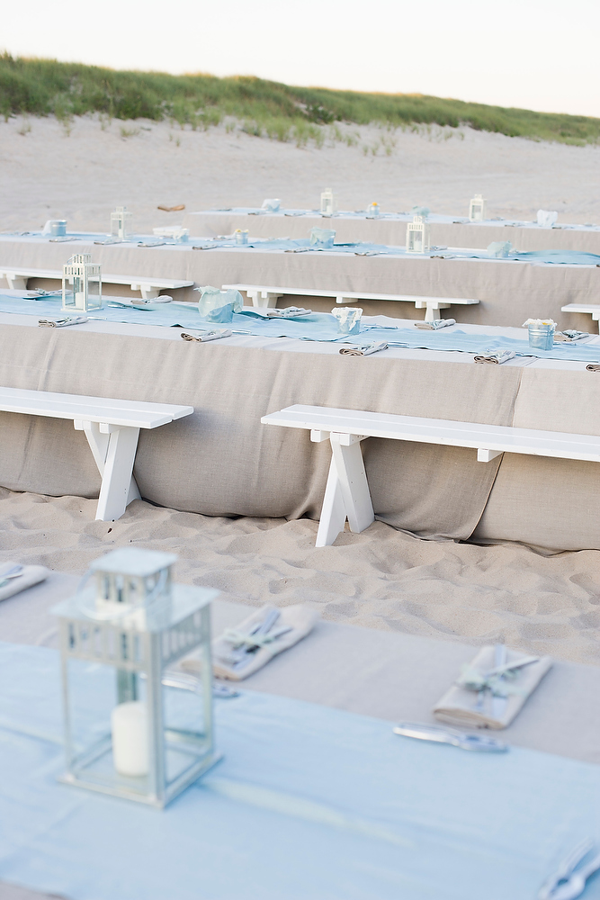 rustic beach wedding decor nautical clambake rehearsal dinner inspired by this 7187
