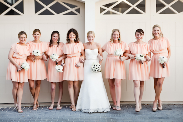 Classic White, Mint and Peach Florida Beach Wedding - Inspired By This