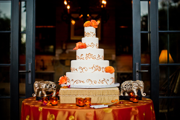 Bold Red Gold And Ivory Sri Lankan Wedding At The Church