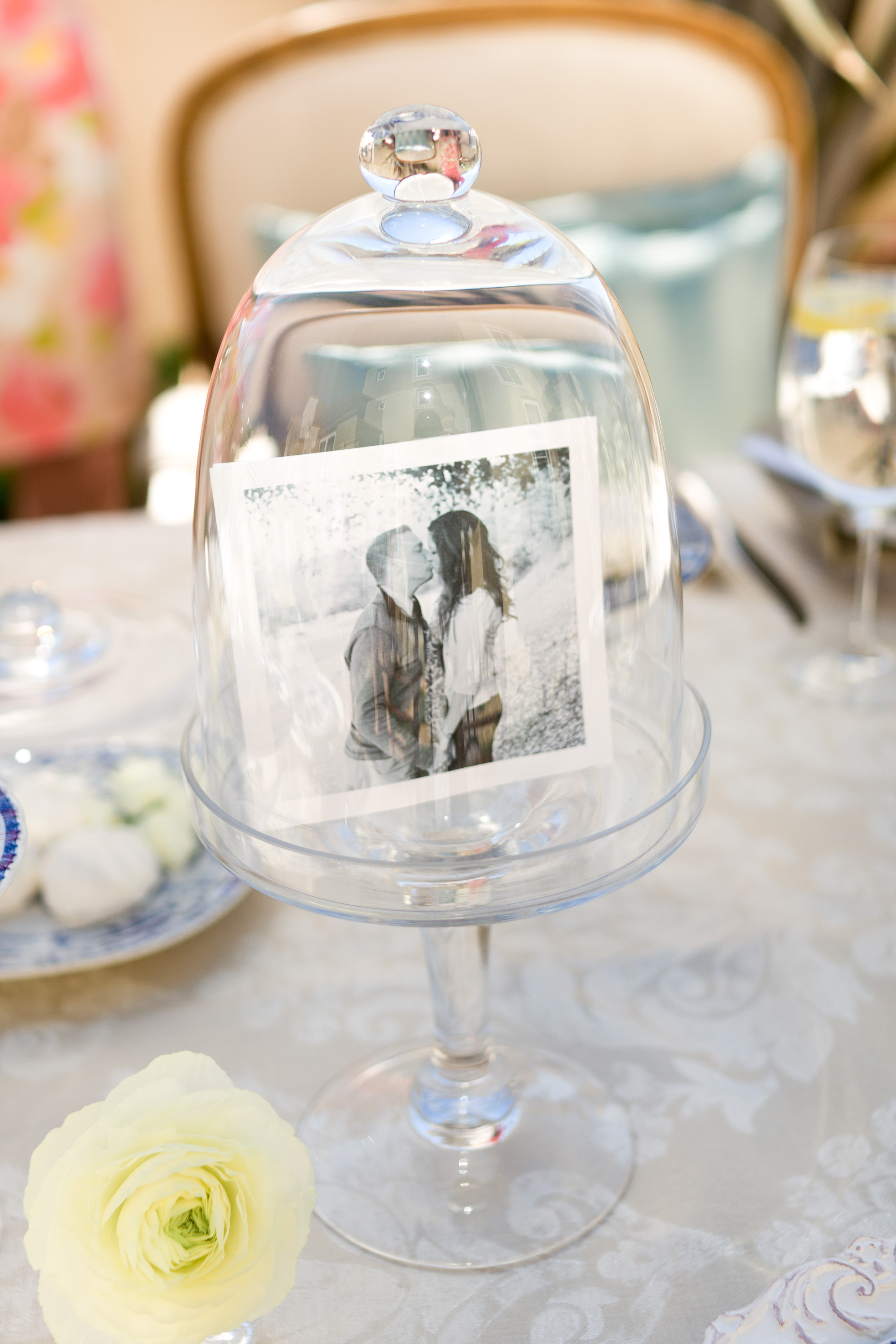 Classic parisian themed bridal shower inspired by this Wedding shower centerpieces
