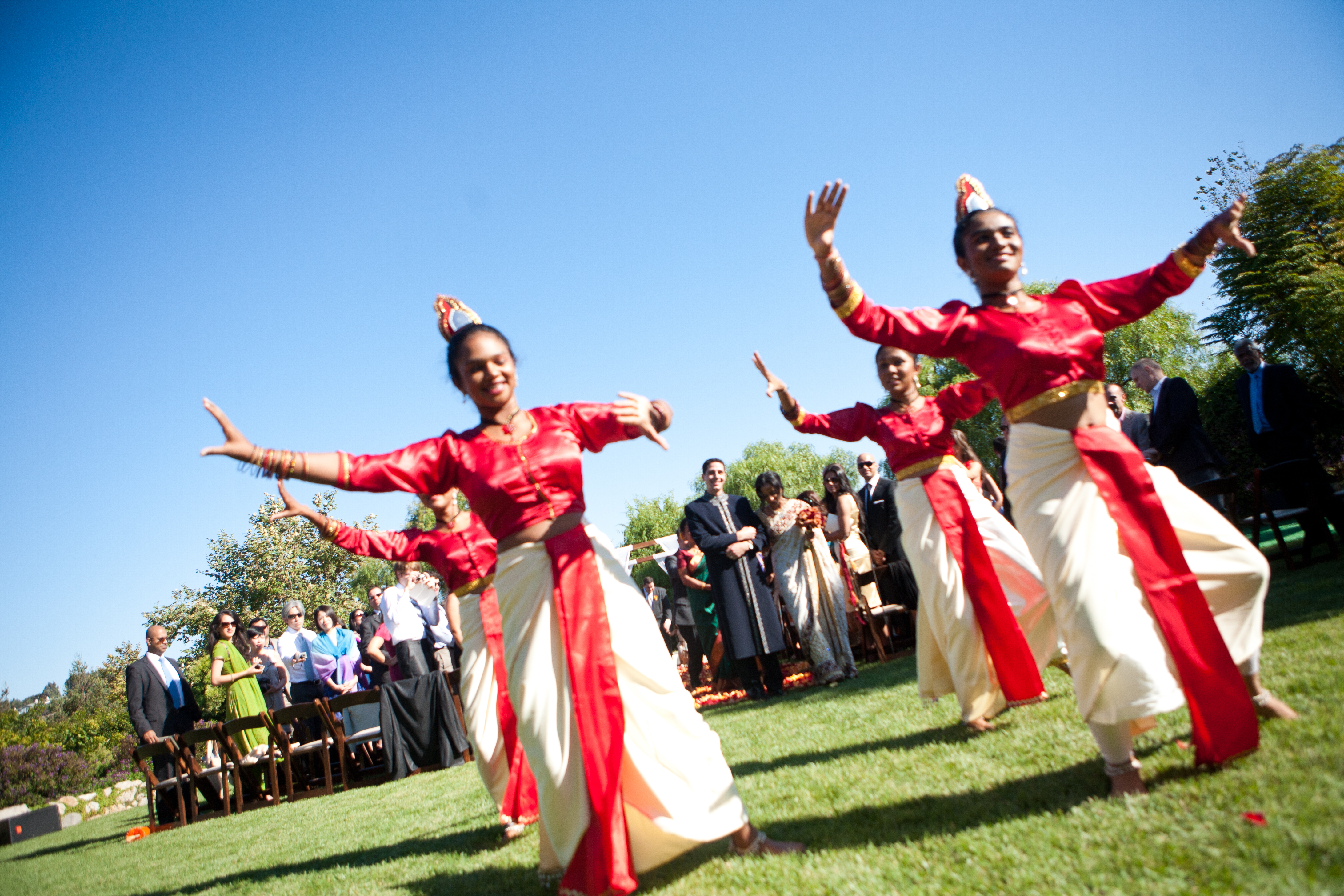 Bold Red Gold And Ivory Sri Lankan Wedding At The Church Estate In Malibu Inspired By This