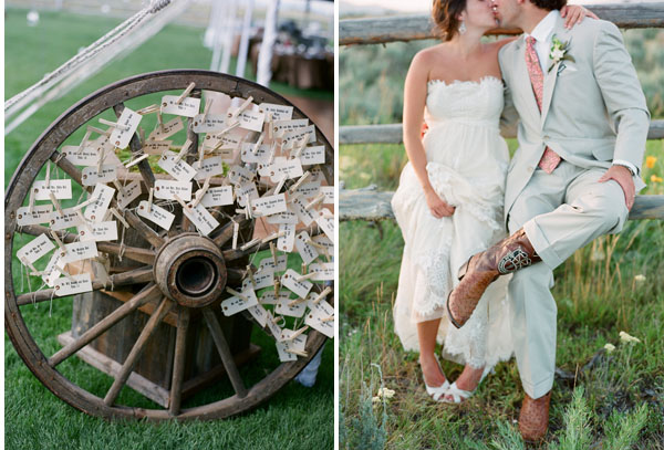 Inspired by Cowboy and Western Weddings - Inspired By This