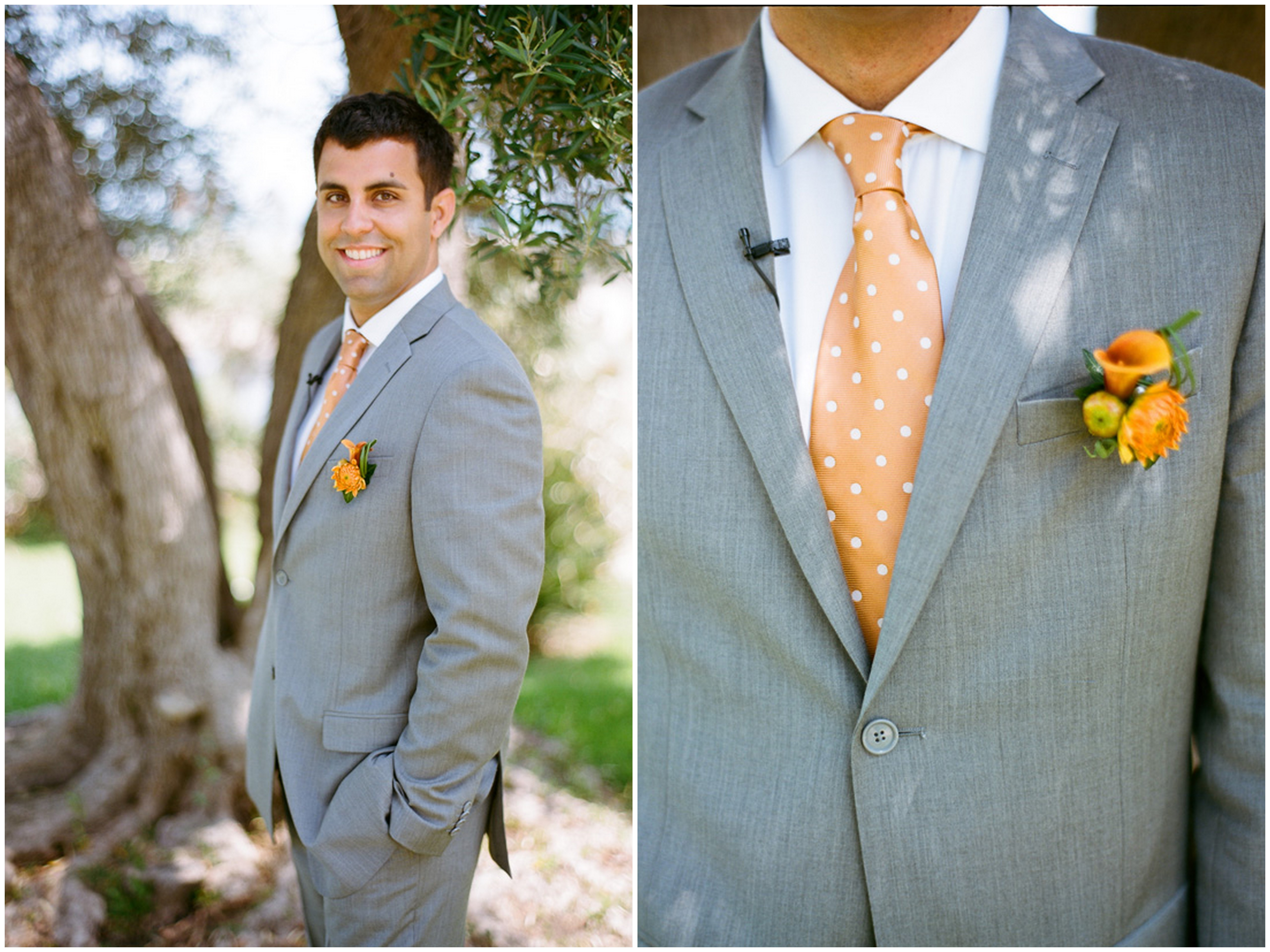 Turquoise, Orange and Coral Malibu Wedding - Inspired By This