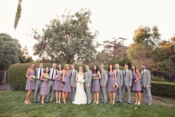 Outdoor Lavender Del Mar Wedding - Inspired By This