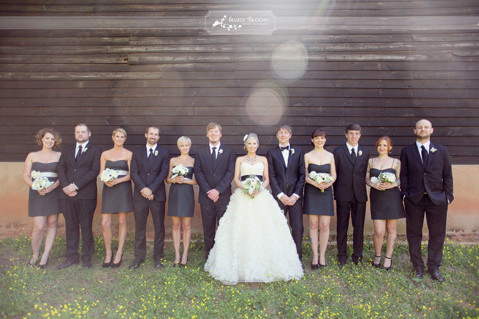 Wedding black with many other