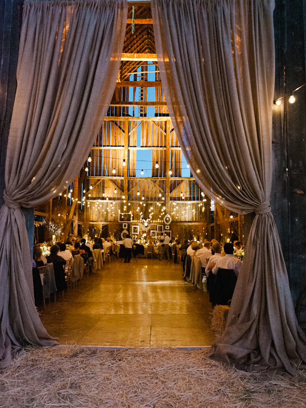 Elegant Wedding in a Barn - Inspired By This