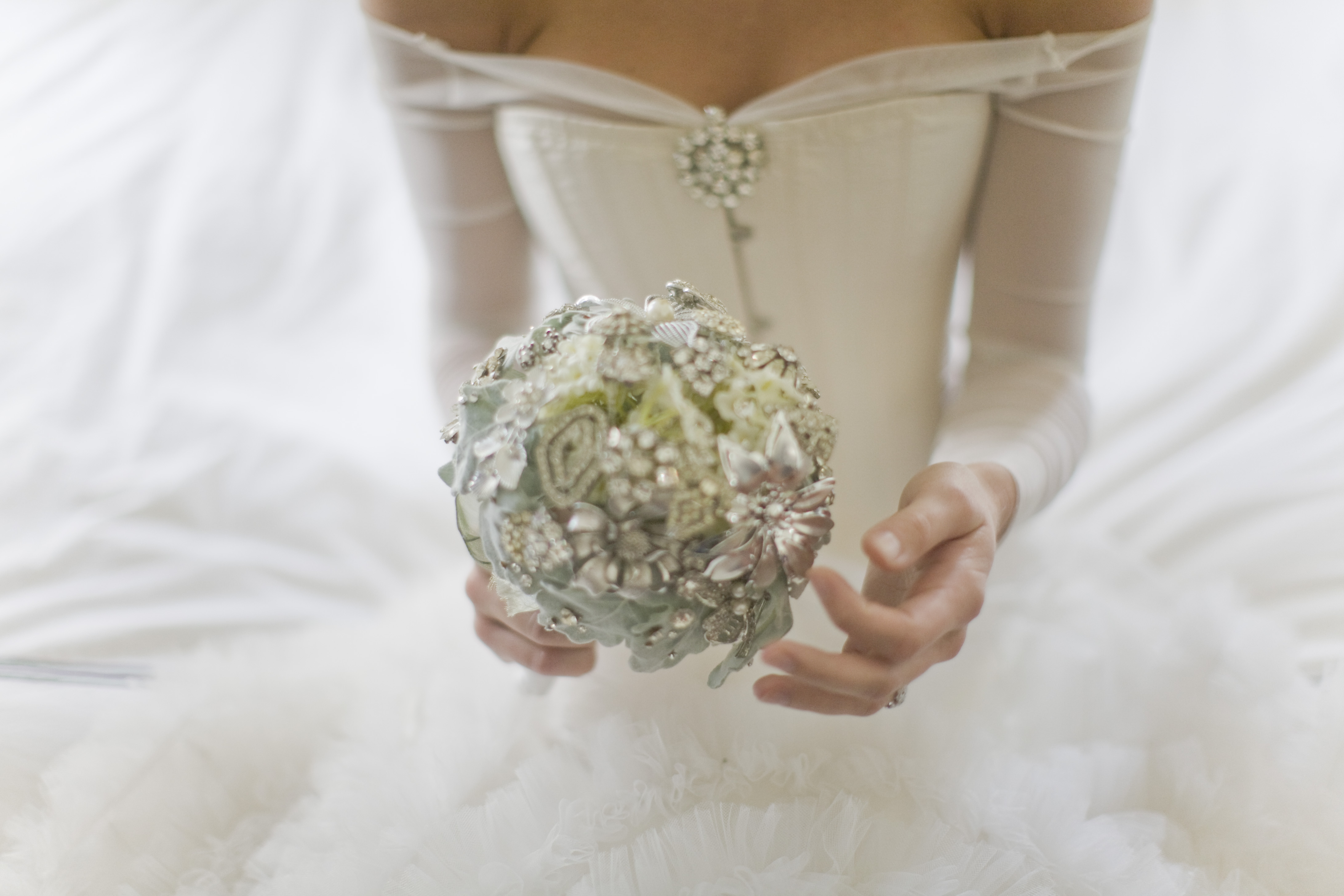 Inspired by Sparkling Silver Wedding Ideas - Inspired By This