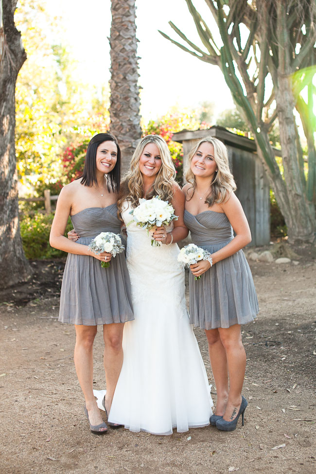 Intimate Outdoor Southern California Wedding