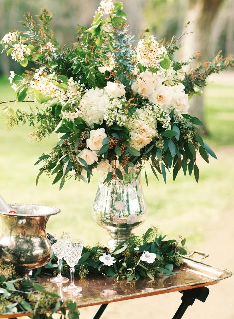 flowers for wedding tables inspired by this equestrian garden wedding shoot 4282