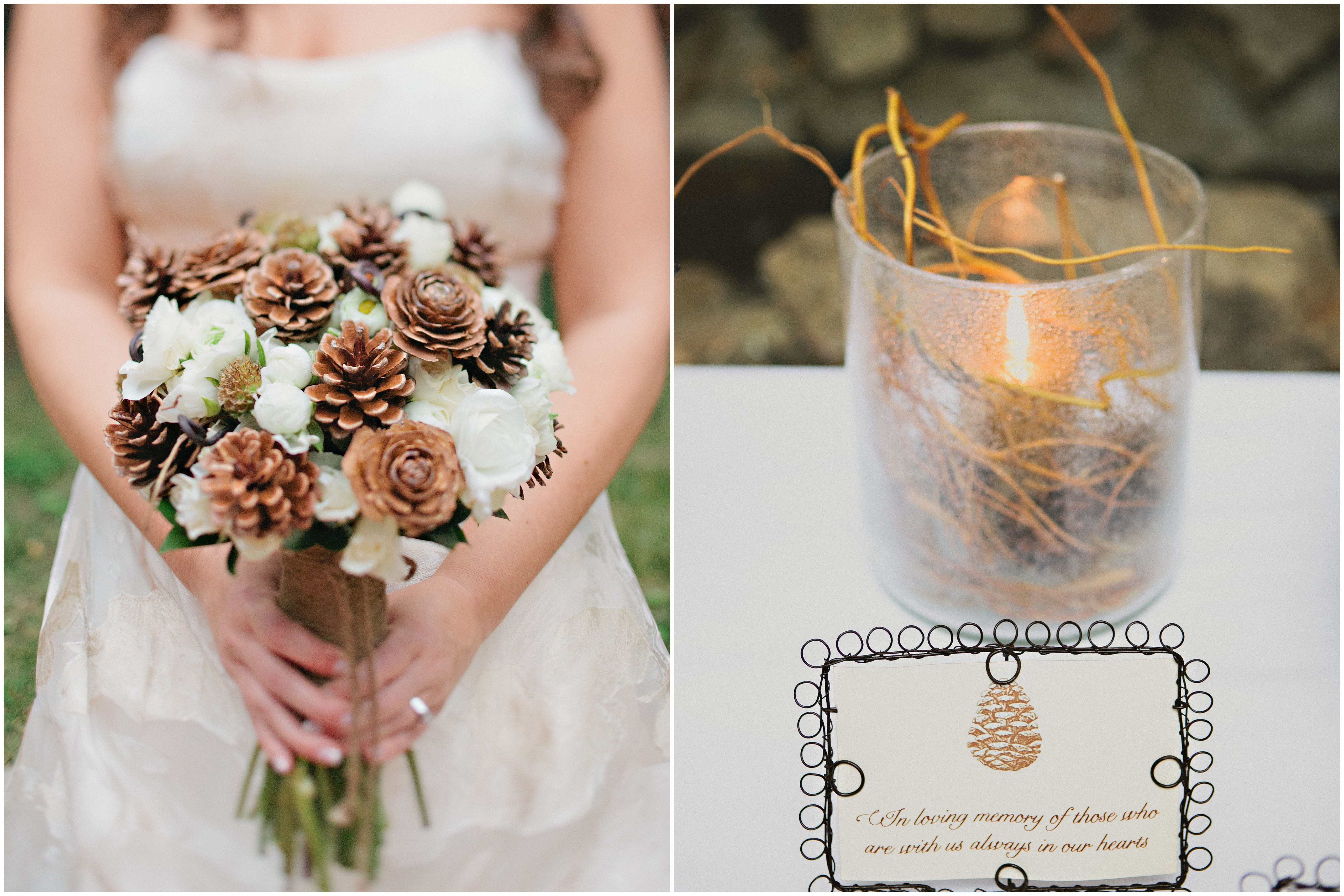 Southern California Pine Cone Wedding Inspired By This