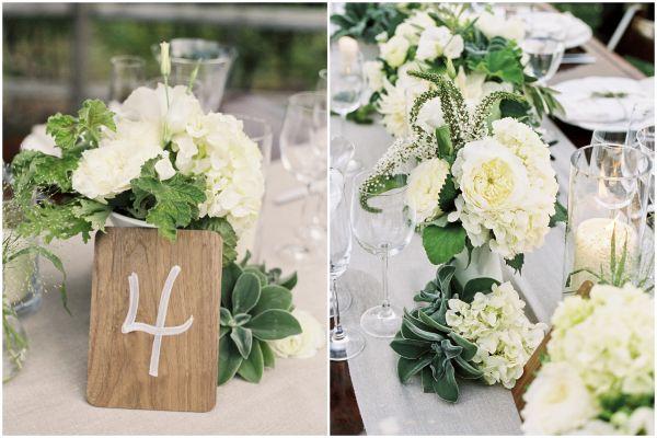 Green and White Organic Outdoor Saddlerock Ranch Wedding ...