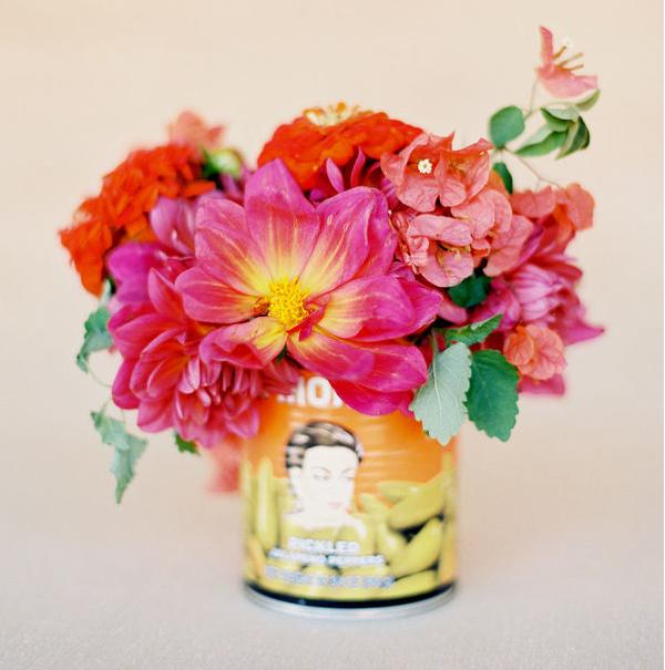 Wedding Flowers spanish flower wedding theme