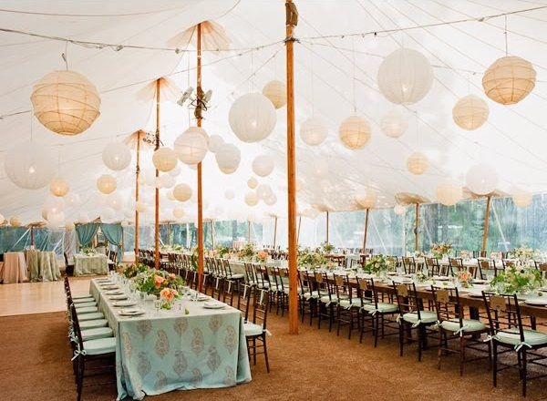 Inspired By These Tent Celebration Wedding Ideas