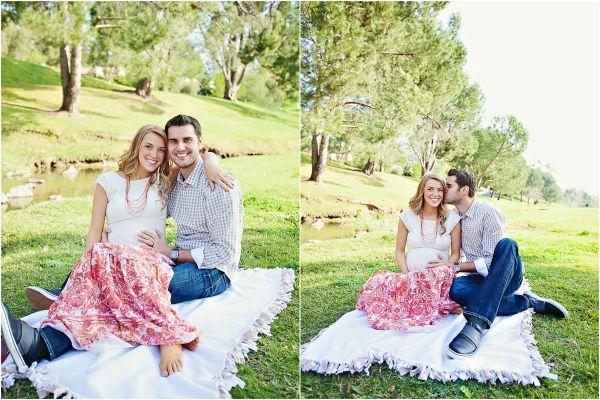 Maternity Photography Ideas With Husband Sunny maternity photo session