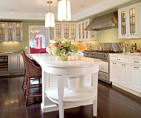 Colorful Kitchens With Charisma: Inspired By This