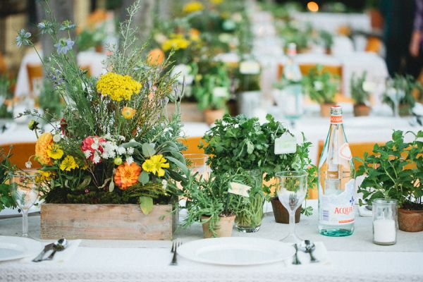 Fall botanical garden wedding inspired by this for Wedding themes for september