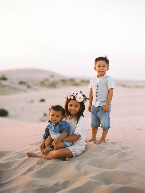 End Of Summer Sand Dune Family Session