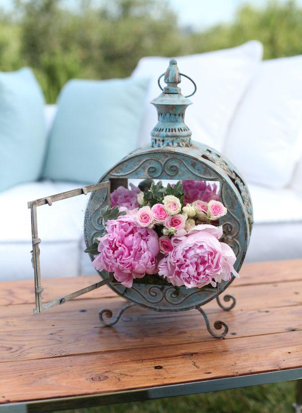 bloemen ceintuur babyshower