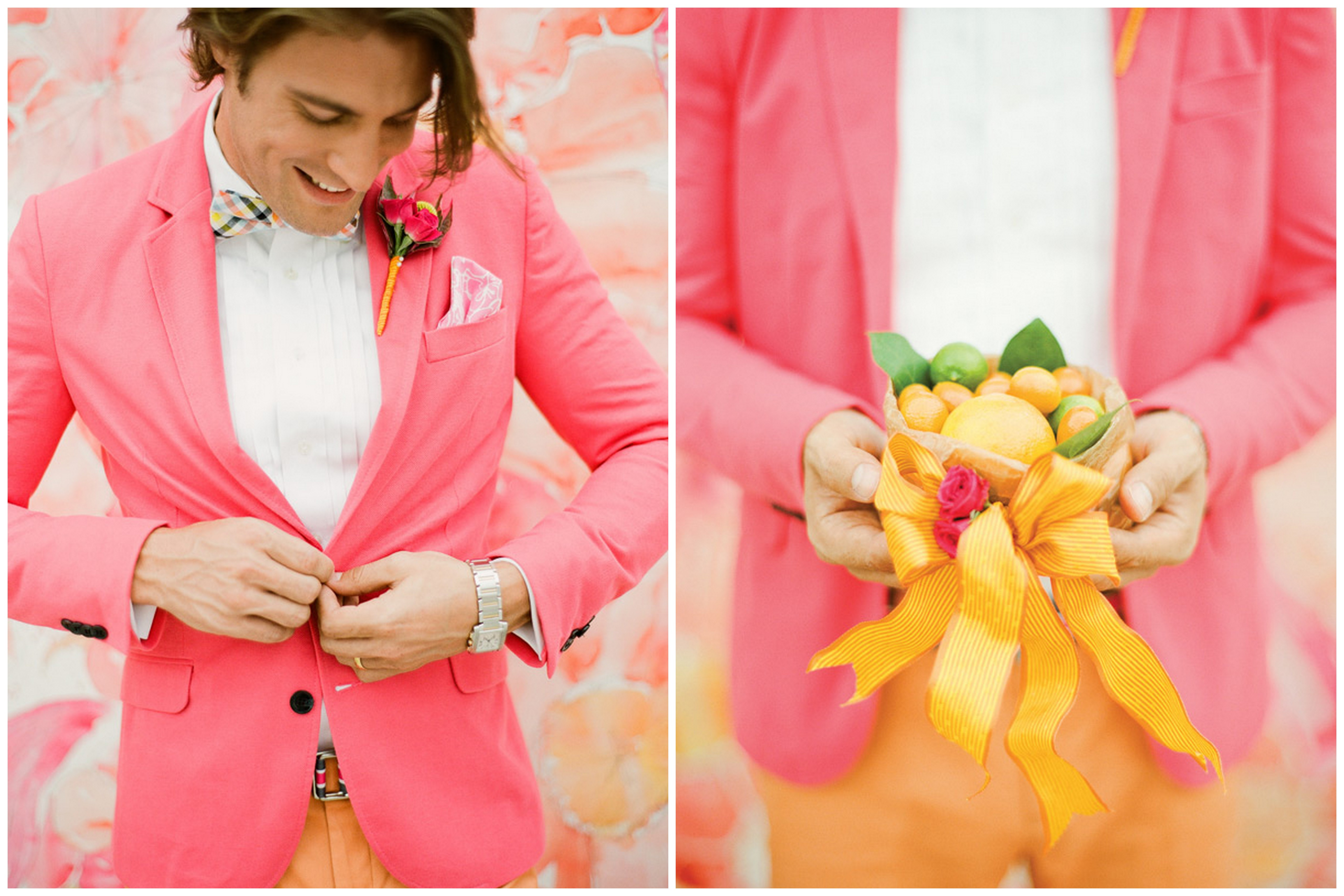 Inspired by These Citrus Orange and Pink Wedding Ideas - Inspired By ...