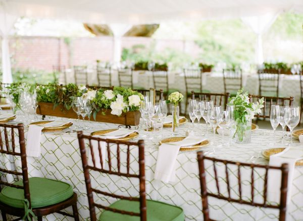 Vibrant Green and Ivory Honey Themed Virginia Wedding - Inspired By This