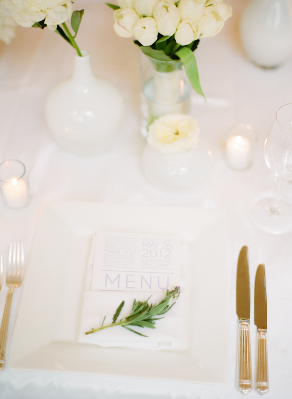Crisp And Clean White Wedding Inspired By This