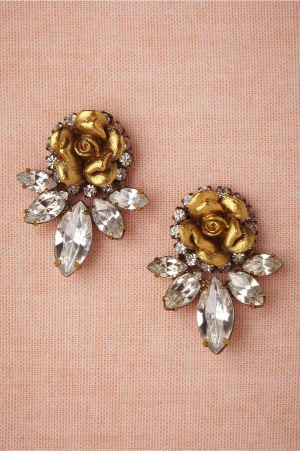 BHLDN Wild Rose Earrings