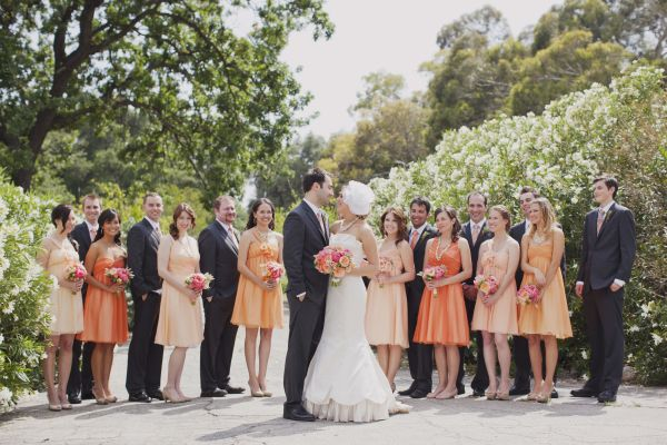 Ashley\'s Vintage Peach Wedding - Inspired By This
